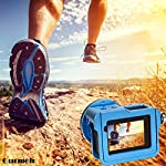 """Gurmoir Case Aluminum Alloy Back Door Housing Frame for Gopro Hero 8 Black Action Camera, Wire connectable Protective… 10 This Aluminum Housing Designed for Gopro Hero 5/Gopro HERO (2018) Action Camera, Blue Make Your Gopro More Unique Your Gopro camera will be more safety during high-velocity sport or daily using. No more worries about the camera will falling out. you can just enjoy your shooting time with 1/4 inch screw hole. the case can compatible with any 1/4"""" tripod. or you can DIY your kit. Sides open allow quick connect of cables. with the Cold Shoe, you can mount a flash, video light, microphone on the top of this case"""
