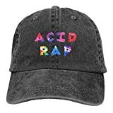 Ruporch Unisex Chance The Rapper - Acid Rap Vintage Adjustable Hat Baseball Cap Denim Dad Hat Cowboy Hat
