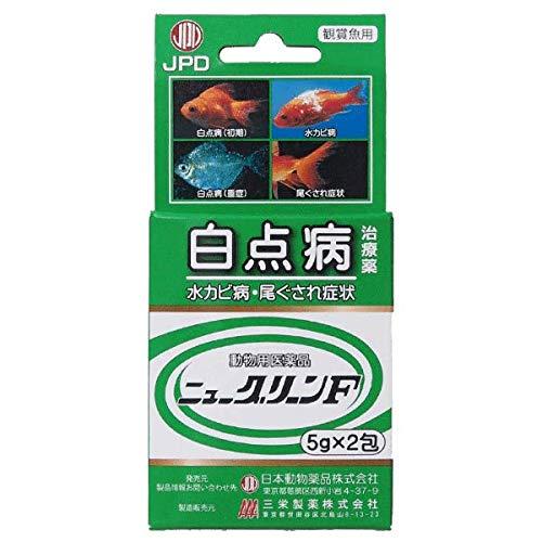 ニチドウ 観賞魚用治療薬 ニューグリーンF フック式 5g×2包 【動物用医薬品】