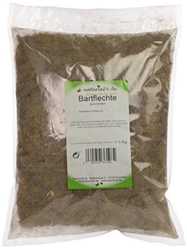 Naturix24 Bartflechte geschnitten, 1er Pack (1 x 1 kg)