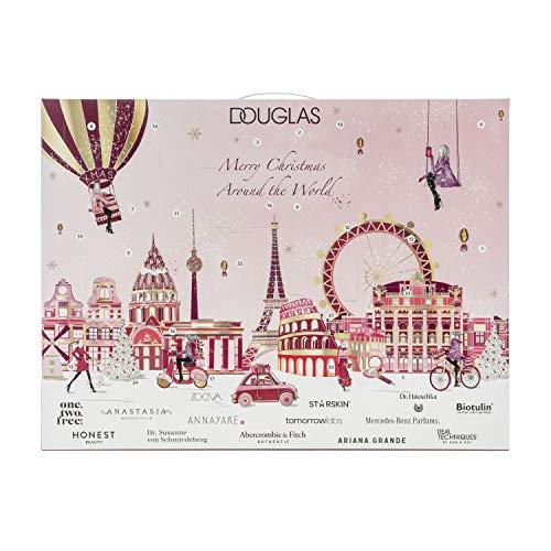 Douglas Beauty Adventskalender 2020 -Premium - bezaubernder Adventskalender für Frauen - tolles Geschenk - Wert: über 300€! inkl. Pretio Beauty Make Up Spiegel