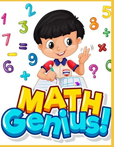 MATH GENIUS: Enfants, Kids, Math, student, Math book, numbers, school,...