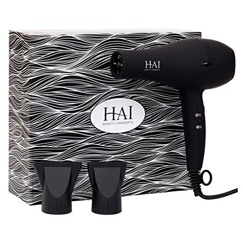 HAI Beauty Concepts - STYLSET Professional Dryer - Custom Temperature Control Blow Dryer - Eliminates Static - Blue UV Light Conditions Scalp - Boosts Shine - Releases Sweet Jasmine Scent