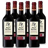 Baron de Lestac - AOP Bordeaux - Vin Rouge - Terra Vitis - Lot de 6 bouteilles x 75cl