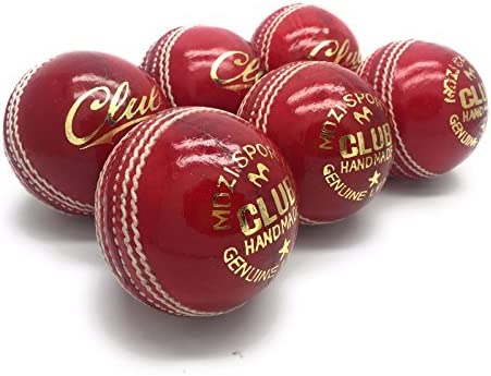 Mozi Sports Men Hand Stitched Club County Cricket Ball Grade A Senior Official Balls Pack of product image