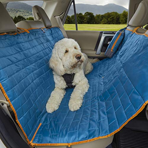 Best Dog Seat Covers for Leather Seats - Kurgo Loft Hammock Car Seat Cover