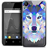 Caseink Coque pour Wiko Sunny 2 (4) Housse Etui [Crystal Gel HD Polygon Series Animal...