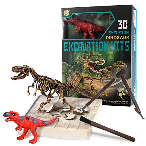 MEICENT Dinosaur Toys for Kids Dinosaurs Excavation Kit STEM Kids Activities Toys Dinosaur Digging...