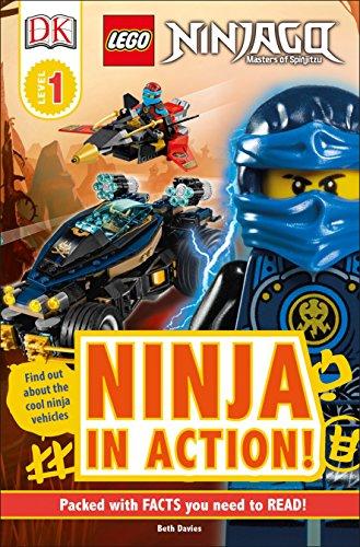 DK READERS L1 LEGO NINJAGO NIN (Dk Readers, Level 1: Lego Ninjago Masters of Spinjitzu)