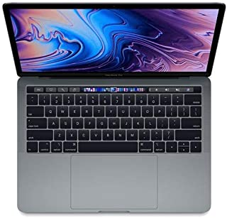 """Apple 13"""" MacBook Pro with Touch Bar, Intel Core i7 2.8GHz, Plus 655, 16GB RAM, 256GB SSD, Space Gray (Mid 2019)"""