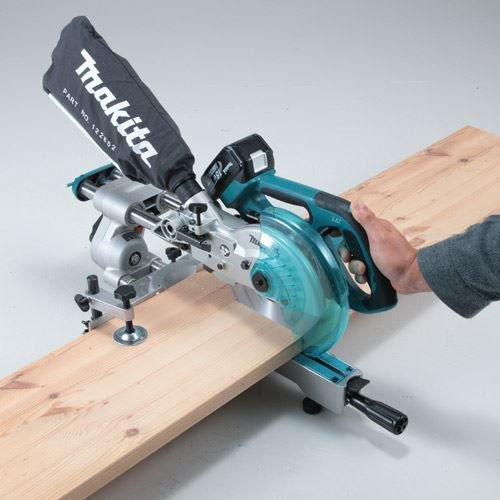 Makita DLS713RFE 18V Cordless Li-ion Slide Compound Mitre Saw (2 X 3.0ah Batt)