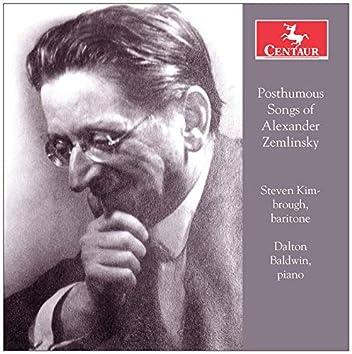 Posthumous Songs of Alexander von Zemlinsky
