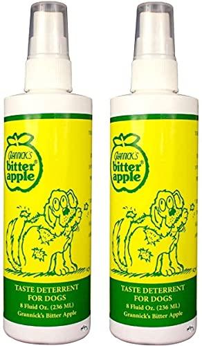 Grannicks Bitter Apple 8oz w/Sprayer-2 pack