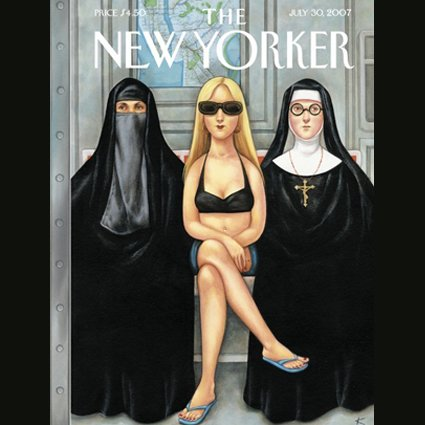 The New Yorker (July 30, 2007) cover art