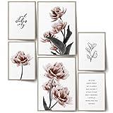 BLCKART Infinity Noble Tulip Poster Set Stilvolle