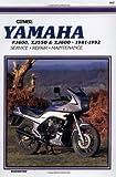 Yamaha XJ550, XJ600 and FJ600, 1981-1992: Clymer Workshop Manual by Randy Stephens (Editor) (1-Oct-1994) Paperback