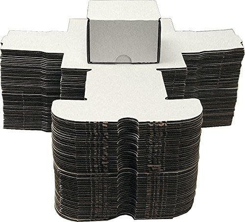 BCW 100 Count (Bundle of 50) Corrugated Cardboard Storage Box - Baseball, Football, Basketball, Hockey, Nascar, Sportscards, Gaming & Trading Cards Collecting Supplies