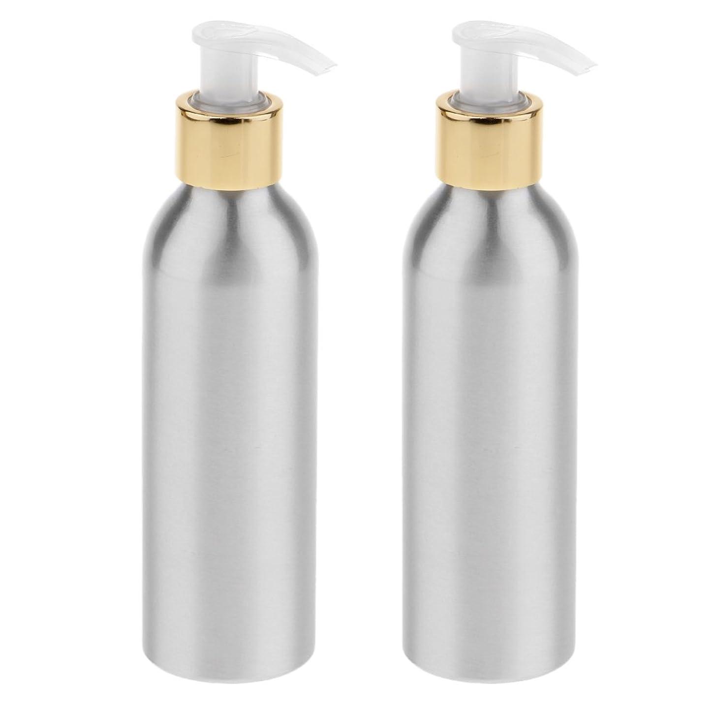 配置放棄する単なるDYNWAVE 2本 スプレーボトル 空ボトル アルミボトル ポンプボトル 香水ボトル シャンプー 全6サイズ - 150m