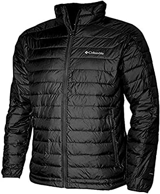 Columbia Men's White Out II Omni Heat Insulated Puffer Jacket (L, Black) by