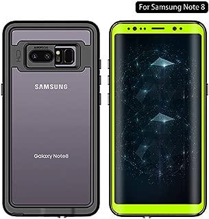 Galaxy Note 8 Waterproof Case, Dooge Transparent Pattern Shockproof Dirtproof Snowproof Rain Proof,Heavy Duty Full Protection Case Cover Rugged IP68 Certified Waterproof Case for Samsung Galaxy Note 8