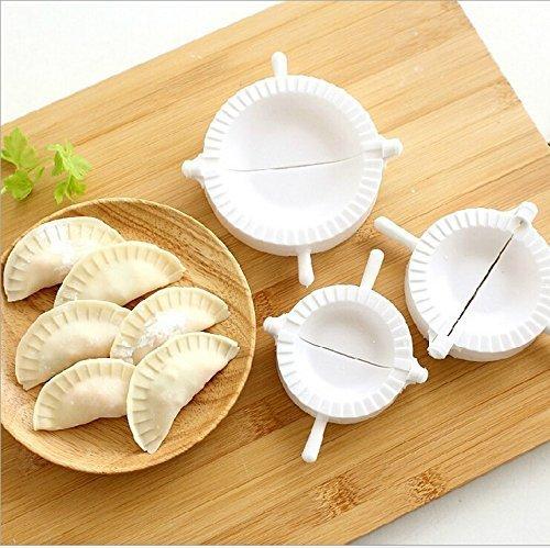 Hinter Teigpresse für Teig, Kuchen, Ravioli, Teig, Gyoza, Empanada-Form, 3 Stück