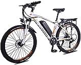 Nueva bicicleta de montaña eléctrica, 26' Electric bicicleta de montaña, 350W sin escobillas del motor, desmontable 36V13Ah impermeable a prueba de polvo y una batería de litio, Tektro Dual Disc Freno