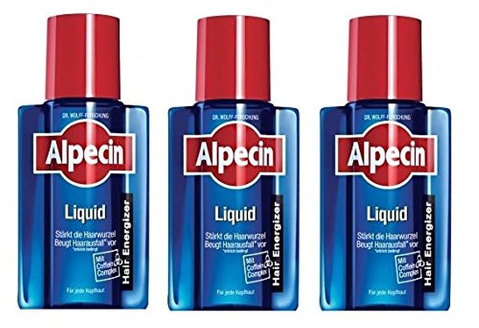 内部割合溶接3本まとめ買い ALPECIN オーガニックシャンプー アフターシャンプーリキッド 200ml [並行輸入品]