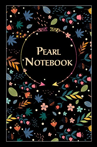 Pearl Notebook: Lined Notebook/Journal Cute Gift for Pearl, Elegant Cover, 100 Pages of High Quality, 6