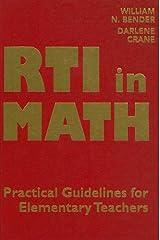 RTI in Math: Pratical Guidelines for Elementary Teachers Capa dura
