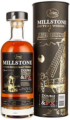 Zuidam Millstone Single Malt Whisky Double Sherry Cask Oloroso & PX Special Nr. 16 2010/2019 (1 x 0.7 l)