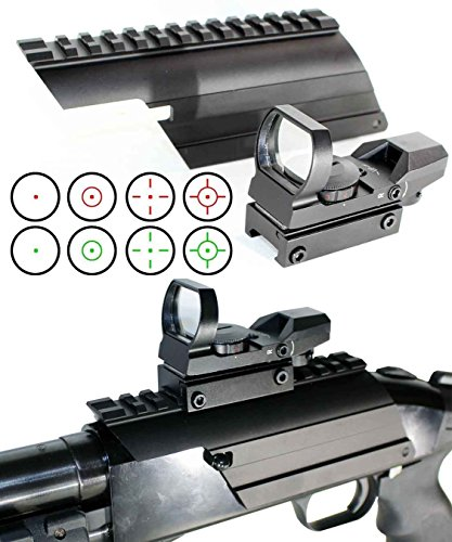 Learn More About Trinity Mossberg 500/Maverick 88 Reflex Point Sight and Mount Combo, Single Rail Mount.