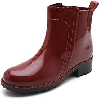 ZOSYNS Chelsea Dameslaarzen, waterdicht, modieus, rubberen laarzen, antislip, regenlaarzen, dames, maat 36-40