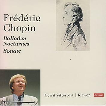 Frédéric Chopin: Ballads 1 - 4, Nocturnes & Piano Sonata No. 3