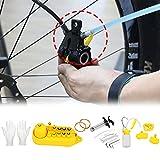 Kit de herramientas de purga de frenos hidráulicos de bicicleta para Shimano, Tektro, Margura y sistema de frenos de disco de la serie Utilice una herramienta de freno de aceite mineral