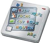 HABA 305049 - Magnetspiel-Box Buchstaben, mit 4 Hintergrundbildern und vielen magnetischen...