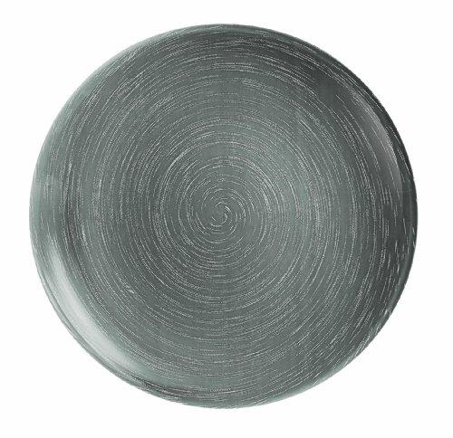 Luminarc 9203548 Stonemania - Juego de 6 Platos hondos (Cristal), Color Gris