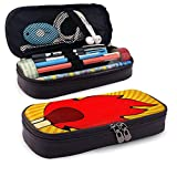 XCNGG Estuche para lápices neceser Fire Flames Set IconsLeather Pencil case, Waterproof, Fashionable and Durable, can be Used for Students, Schools, Offices, Colleges