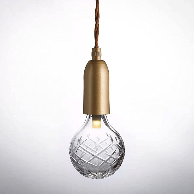 Kronleuchter ZLR Moderne minimalistische LED-Lampen Kristall graviert Café Shop Bekleidungsgeschft Dekoration Birne leuchtet 3W LED G9 Lampe Perlen (Farbe   Warmes Licht)