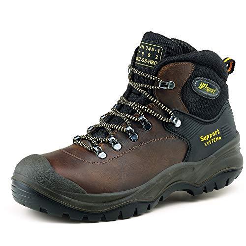 Grisport Men's Contractor S3 Safety Boots Brown 8 UK (42 EU)