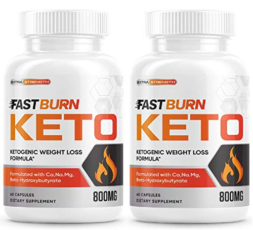 Fast Burn Keto Extra Strengh 120 CAPS - KETOGENIC Weight Formula - 2 Month Supply