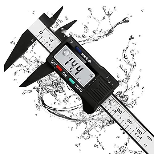 Calibrador Digital, Micrómetro de alta Precisión, Calibrador Digital Electrónico de Acero Inoxidable,...