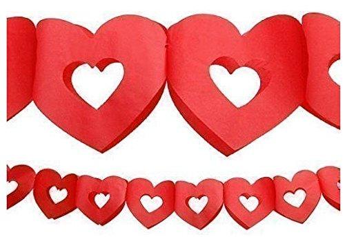 Rode Hartjes slinger - Valentijn Collectie