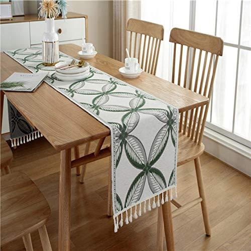 RCLYH 2020 Neu Gestaltete Moderne Einfache Stil Volltonfarben Geometrie Gedruckt 100% Polyester Tischdecke Tischläufer   Tischdecken  