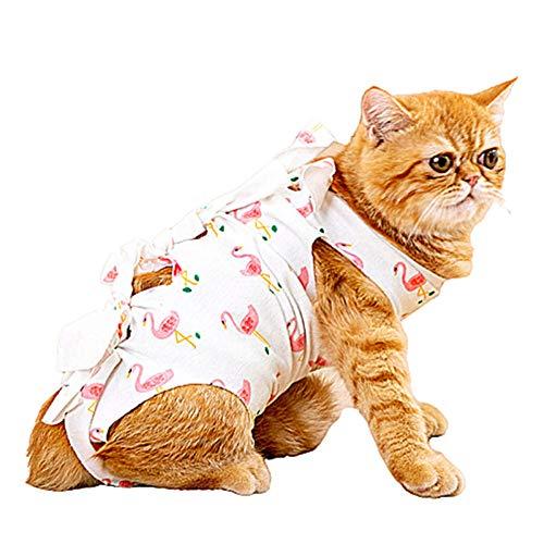 lffopt Pijamas para Perros Pequeños Ropa para Gatos Pequeñ