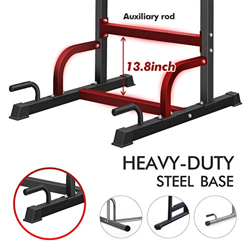 Product Image 6: BangTong&Li Power Tower Workout Pull Up & Dip Station Adjustable Multi-Function Home Gym Fitness Equipment
