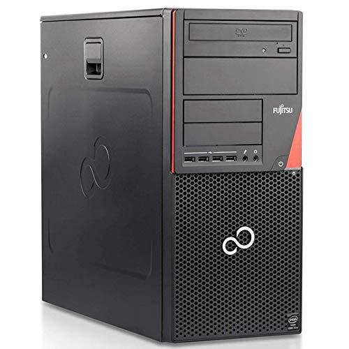 PC Computer Desktop Fujitsu Esprimo P720, Windows 10 Professional, Intel Core i5 4a Gen, Memoria Ram 8GB DDR3, SSD 240GB + HDD 500GB, DVD-ROM (Ricondizionato)