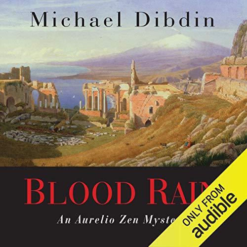 Blood Rain audiobook cover art