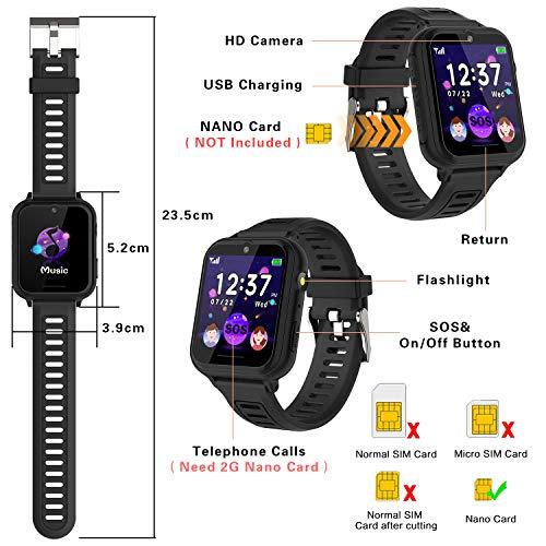 Telefonuhr/Smartwatch Kinder von BAUISAN (Amazons Choice) - 7