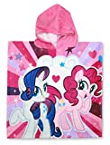 SETINO 821-327 My Little Pony Kinder Bade-Poncho mit Kapuze 55 x 80cm