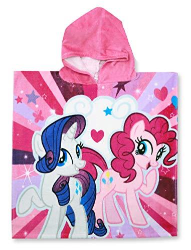 SETINO My Little Pony 821-327 - Poncho de baño con capucha (55 x 80 cm), diseño de My Little Pony